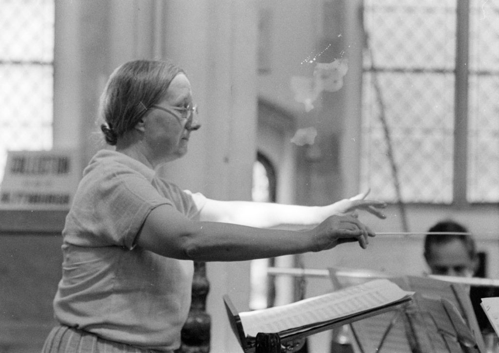 Imogen Holst Conducting